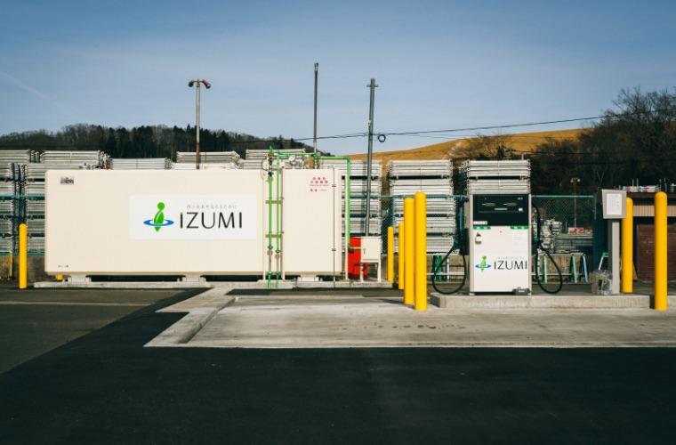 画像:株式会社 泉 自家用給油所外観